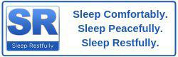 Sleep Restfully Sticky Logo