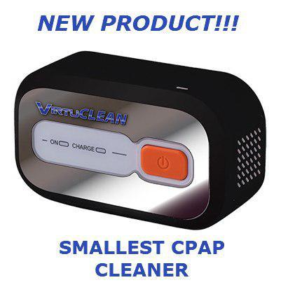 VirtuClean - Smallest CPAP Cleaner