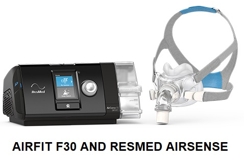 Resmed Airfit F30 and Airsense 10