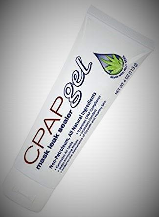CPAP mask gel