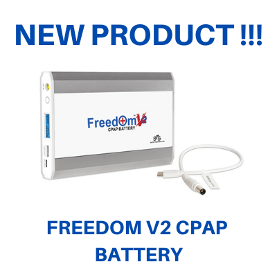 Freedom V2 CPAP Battery