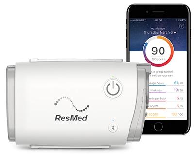 Devilbiss Air Power >> AirMini CPAP | ResMed | SleepRestfully.com