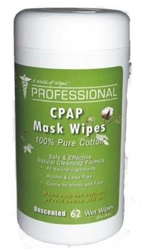 Professional CPAP Mask Wipes by A World Of Wipes