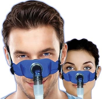 elan Soft Cloth Nasal CPAP Mask