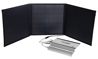 Solar Charger for Freedom CPAP Battery