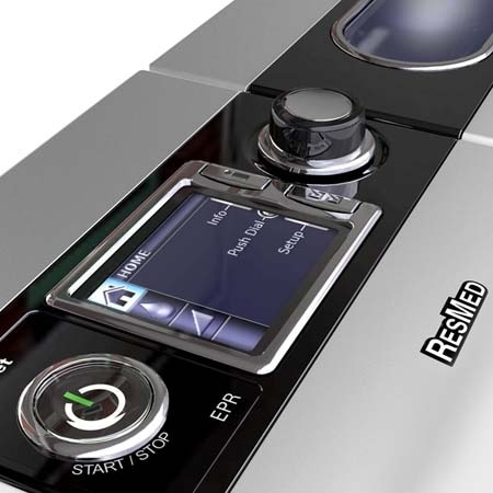 Resmed S9 Series Intuitive Design