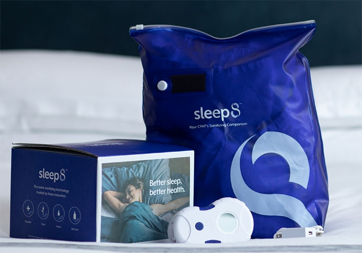 Sleep8 CPAP Snaitizing Companion