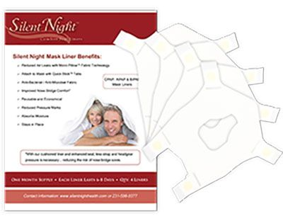 Silent Night CPAP Mask Liner