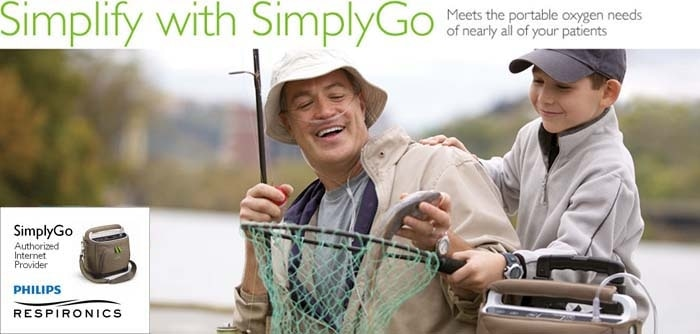 SimplyGo - philips Respironics - Portable Oxygen Concentrator