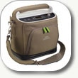SimplyGo Portable Oxygen Concentrator by Philips Respironics provides continuous flow and pulse doseoxygen in a 10 pound package