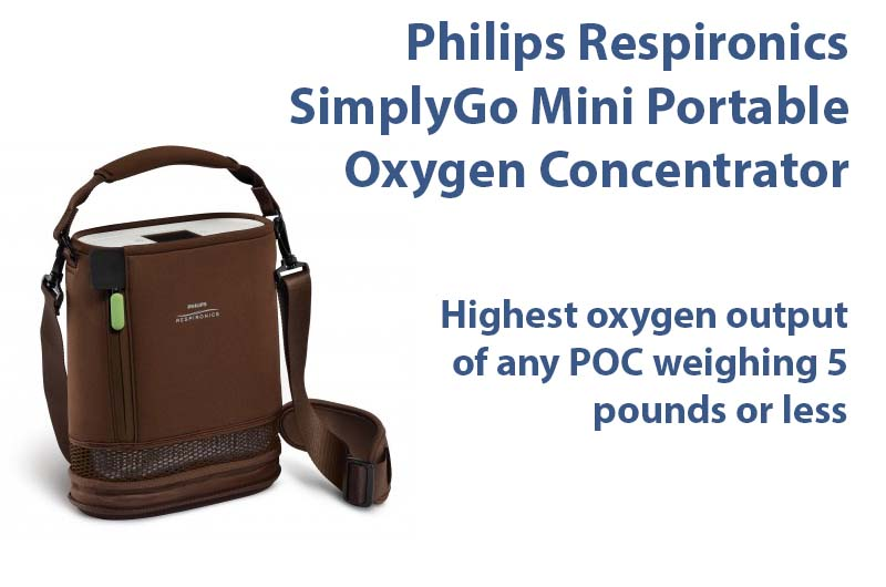 Philips Respironics SimplyGo Mini Portable Oxygen Concentrator