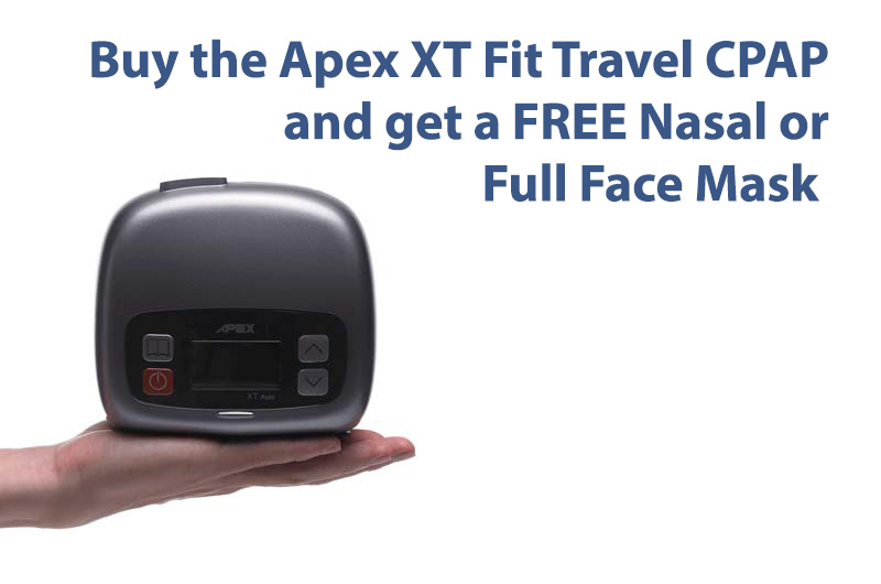 Apex XT Fit Travel CPAP Machine