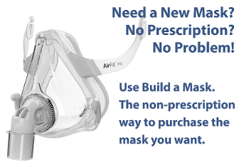 CPAP Mask without a prescription
