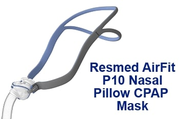 ResMed P10 Nasal Pillow CPAP Mask
