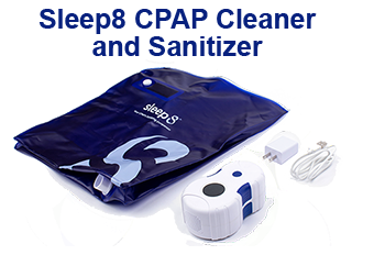 Sleep8 CPAP Sanitizer and Cleaner