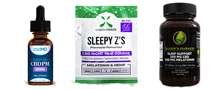 CDB Products for Sleep