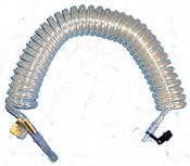 Tidy Tubing Coiled Self Storing Oxygen Line