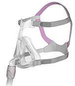 Quattro Air for Her Full Face CPAP Mask with Headgear