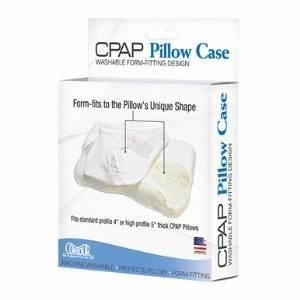 CPAP Pillow Case in White