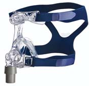 Mirage Micro Nasal Mask with Breath O Prene Headgear