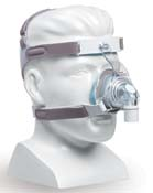 TrueBlue Gel Nasal Mask with Headgear
